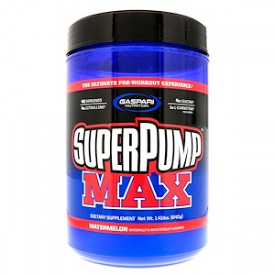 SUPER PUMP MAX 640gr-GASPARI WATERMELON