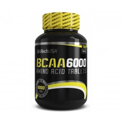 BCAA 6000 BIOTECH 100 TABS