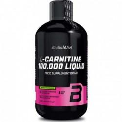 L-Carnitine 100.000 Liquid Biotech USA