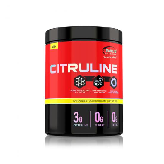 CITRULINE 200g/66 serv -GENIUS NUTRITION