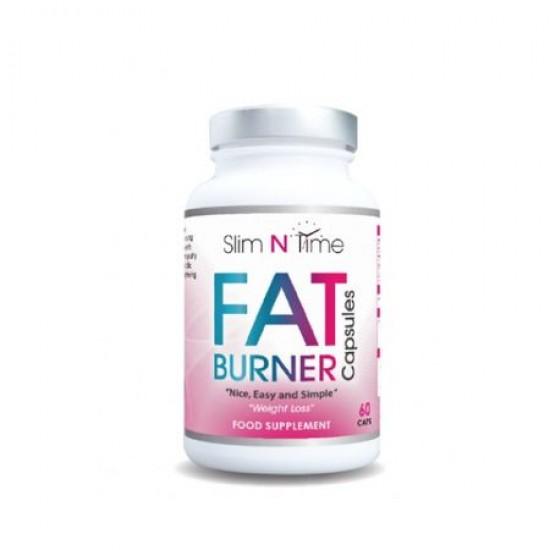Arzator de grasimi pentru femei Slim N Time Fat Burner 60 Caps