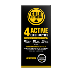 4 ACTIVE ELECTROLYTES GOLD NUTRITION 10 PACKS