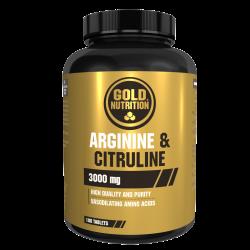 GOLDNUTRITION ARGININE&CITRULINE 100 TAB