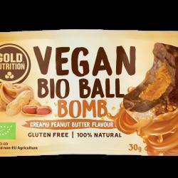 Bilă bio vegană - Bombă de unt de arahide 30gr
