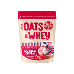 GOLDNUTIRTION OATS&WHEY STRAWBERRY 400 G