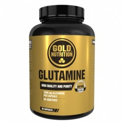 Glutamine1000 mg, 90 cps, Gold Nutrition
