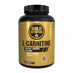 L-CARNITINE GOLD NUTRITION 60 CAPS 55G