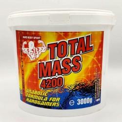 Total Mass 4200, 3 kg, Hard Body
