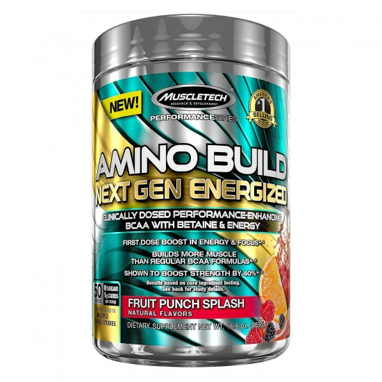Amino Build Next Gen Energized 284 g - MuscleTech
