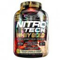 Nitro Tech 100% Whey Gold, 2510g, MUSCLE TECH