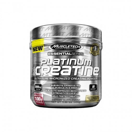 PLATINUM CREATINE 400G-MUSCLETECH