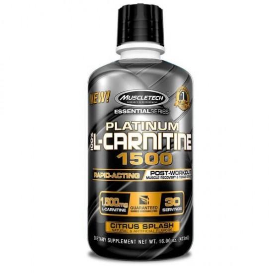 Platinum L-Carnitine 1500 473ml MuscleTech