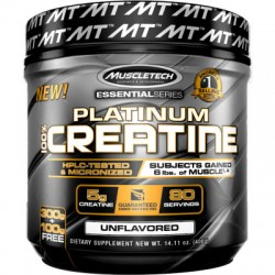 PLATINUM CREATINE 400G-MUSCLETECH