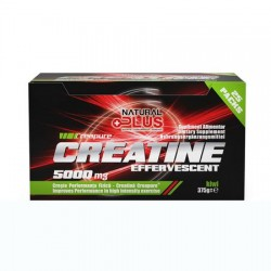 CREATINA EFERVESCENTA 5000 mg NATURAL PLUS