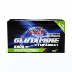 GLUTAMINA EFERVESCENTA NATURAL PLUS 25x10G