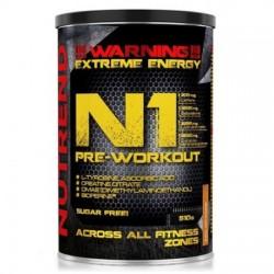 Pudra energizanta Nutrend N1 Pre-Workout 510 g