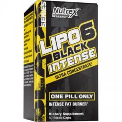 Lipo-6 Black Intense Ultra Concentrate,60 cap, Nutrex
