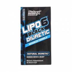 Lipo 6 Black Diuretic, Nutrex, 80 Caps USA