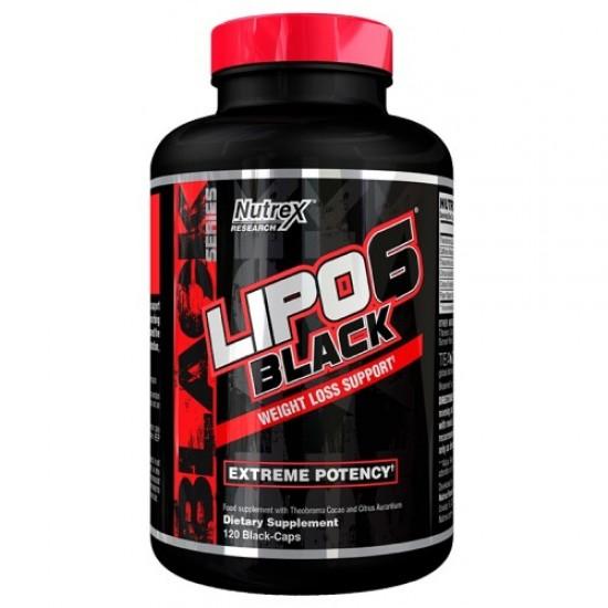 LIPO 6 BLACK 120 CAPSULE NUTREX