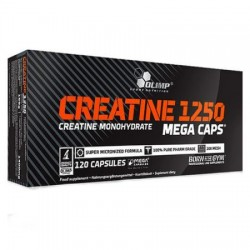 Creatine Mega Caps 1250, 120 Capsule Olimp Nutrition