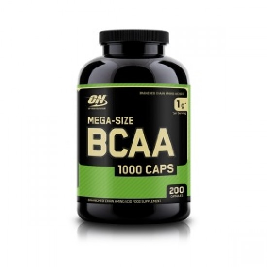 BCAA 1000 mg 200 Caps ON