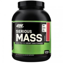 Serious Mass Optimum Nutrition 2,7 kg Capsuni