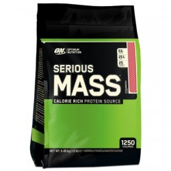 Serious Mass Optimum Nutrition 5.4kg Capsuni
