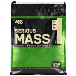 Serious Mass Optimum Nutrition 5.4kg Vanilie