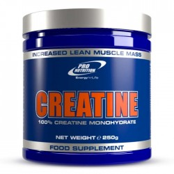 CREATINE POWDER 250G PRO NUTRITION