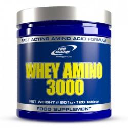 WHEY AMINO 3000 PRO NUTRITION 120 CAPS 201G