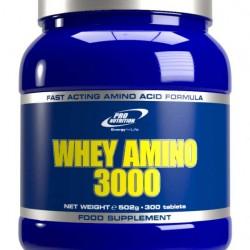 Whey Amino 3000, 300 tab, Pro Nutrition