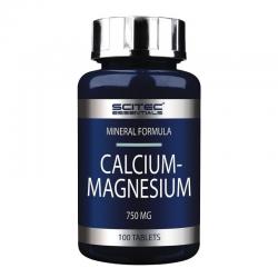 CALCIUM-MAGNESIUM SCITEC 100 TABS 225.G