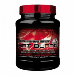 PULBERE ENERGIZANTA HOT BLOOD 3.0 SCITEC