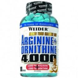 Arginine + Ornithine 4.000 -180 caps WEIDER