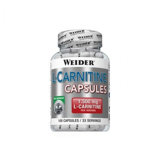 L-CARNITINE 1500 WEIDER 100 CAPS 88G