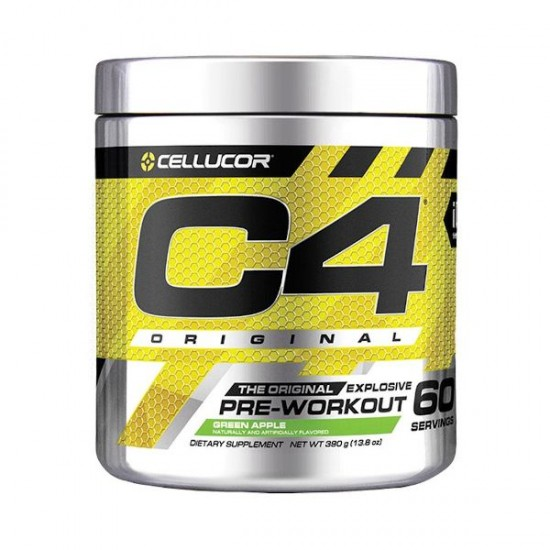Pre-workout c4 390g Green Apple