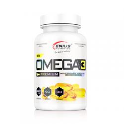 Omega 3, 90capsule moi, Genius Nutrition