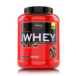 iWHEY, 2000g/61 serv, Genius Nutrition