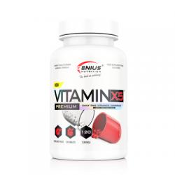 Complex de Vitamine VitaminX5, 120 tablete, Genius Nutrition