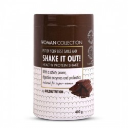 SHAKE IT OUT WOMAN COLLECTION,400G, GOLD NUTRITION