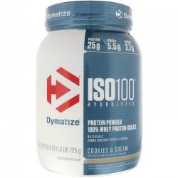 DYMATIZE ISO-100 900 G IZOLAT PROTEIC DIN ZER 100%