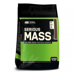 Serious Mass Optimum Nutrition 5.4kg Ciocolata