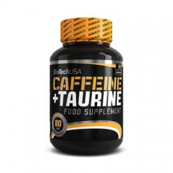 CAPSULE ENERGIZANTE CAFFEINE&TAURINE ,60 CAPS BIOTECH